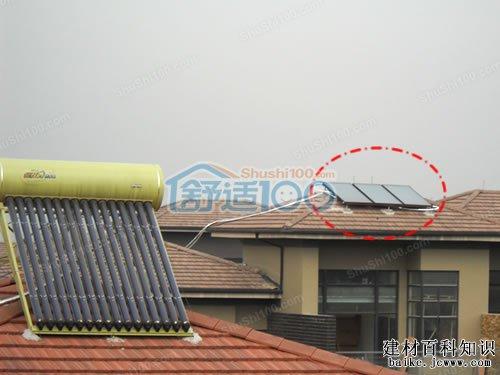 长源假日港湾太阳能安装图