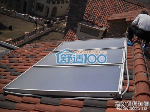 太阳能热水器安装方便