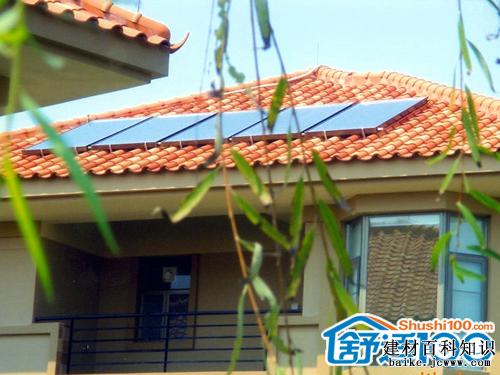 平板太阳能与建筑一体化